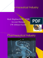 Pharmaceutical Industry-UW 2005[1]Shigihara