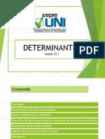 Sesion 15.1 Determinantes