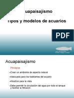 Acuapaisajismo Tipos y Modelos de Acuarios