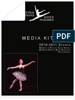 2010-2011 Central Indiana Dance Ensemble Advertising Media Kit