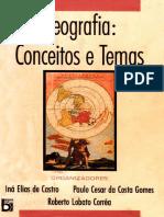 CORREA, CASTRO e GOMES Geografia; Conceitos e Temas
