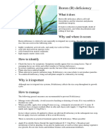 Defeciencies and Toxicity in Rice