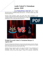 Prediksi Newcastle United Vs Tottenham Hotspur 11 Agustus2018.docx