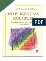 Las Inteligencias Multiples Uso Practico Para El Aprendizaje