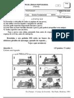 Prova.pb.Lingua.portuguesa.1ano.manha