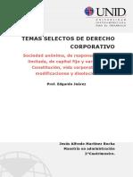TAREA 1 Temas Selectos de Derecho Corporativo