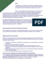 Conceptos de Servicio Comunitario Universitario