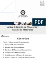 Gestion de Almacenes y Manejo de Materiales