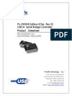datasheet serial usb