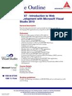 Introduction to Web Development With Microsoft Visual Studio 2010