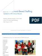 Staffing Presentation for 8-6-18 Board Meeting