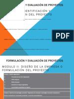 formación  evaluación de proyectos
