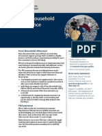 Farm Household Allowance factsheet
