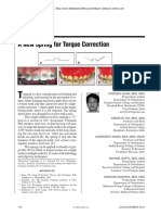 A New Spring for Torque Correction