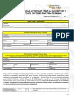 Formato Voluntad Anticipada 2 (Representante) - Copia