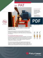 Alineador Poleas Fixturlaser Pat PDF 475 Kb