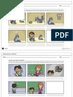 teachstarter inferencecomicsworksheet 97534