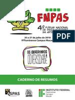 IV Fnpas Caderno de Resumos1