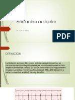 Fibrilación Auricular Resumen