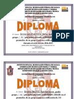 Diploma Mejores Promedios 2017 General