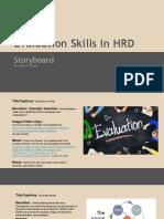 evaluation storyboard