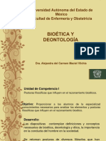 Bioetica y Deontologia