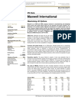 [OKS] Maxwell International