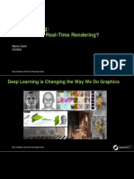 Deep learning for real time graphics