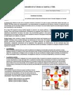 Guía de contenido de la Colonia en América y Chile8°