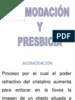 2.- Acomodacion y Presbicia