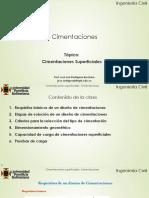 5.0 Cimentaciones Superficiales-Cimentaciones