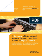 201001 Digital Literacy Research Report