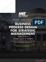 Business Process Design for Strategic Management
