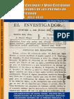 LIBRO. Daniel Morán. Sociedad colonial y vida cotidiana en Lima a través de la páginas de El Investigador del Perú, 2007.