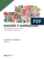 Bhabha - Nacion y Narracion.pdf