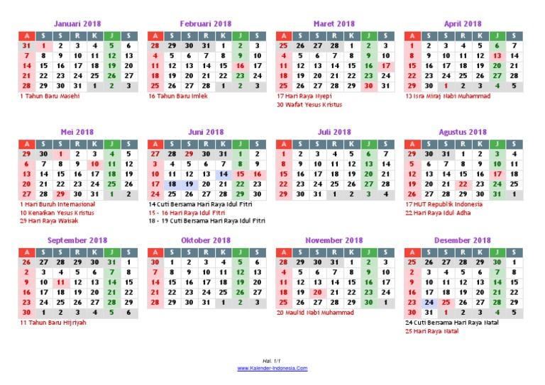 kalender masehi 2018pdf
