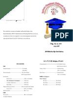 Grad Program 2017-2018
