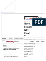 Why Visual Management Boards Fail | Lean Manufacturing Tools