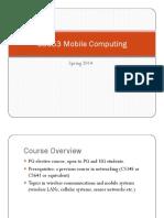 Cs653 Overview