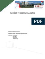 Ruido en Telecomunicaciones