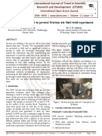 Symbol development to present Friction stir Butt weld experiment
