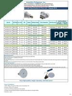 Solartility LED Emergency Light Catalogue 201608