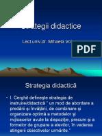 -Strategii didactice