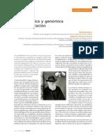 Filogenómica y genómica de la adaptación