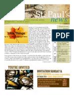 St. Paul's News - October, 2010