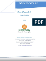 OmniDocs 8.1 Installation and Upgrade Manual