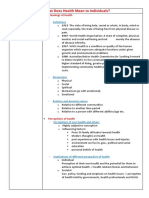PDHPE NOTES CORE 1 .docx