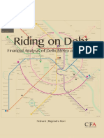 Financial Analysis of Delhi Metro After Phase-III