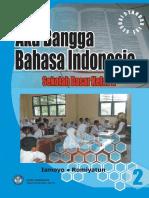 Aku Bangga Bahasa Indonesia Kelas 2 Ismoyo 2008