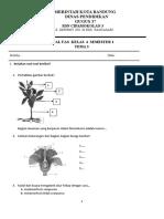 Soal Uas Kelas 4 Smtr 1 Tema 3